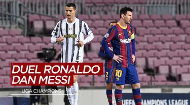 Berita Video Melihat Kembali Duel Cristiano Ronaldo dan Lionel Messi di Babak Kualifikasi Grup Liga Champions