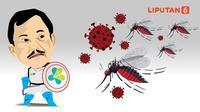 Banner Infografis Virus Corona Berbahaya Vs DBD Mematikan. (Liputan6.com/Abdillah)