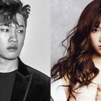 Crush & Taeyeon SNSD (via Soompi.com)