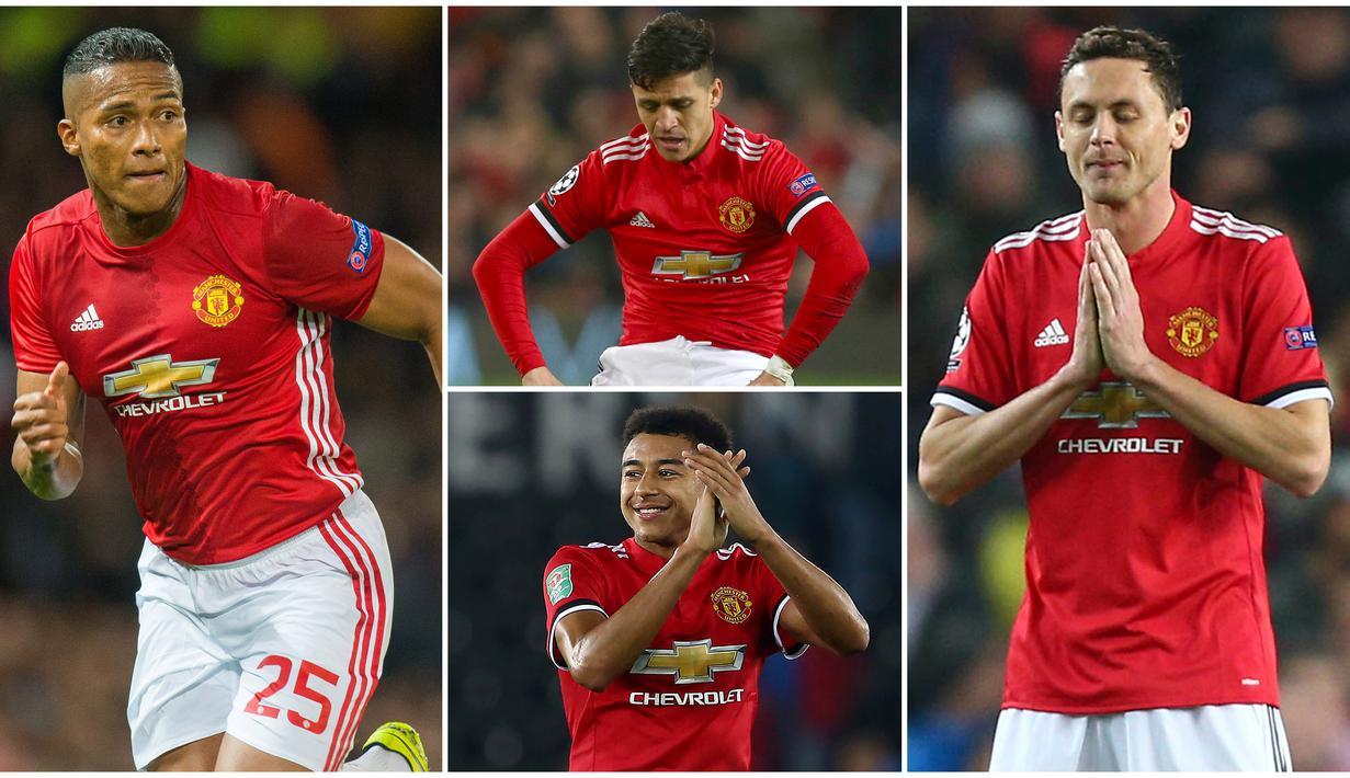 FOTO 5 Pemain Manchester United Yang Performanya Merosot Di