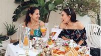 Irish Bella dan Pevita Pearce membentuk squad (Foto: Instagram)
