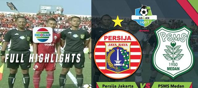 Berita video highlights Gojek Liga 1 2018 bersama Bukalapak antara Persija Jakarta melawan PSMS Medan yang berakhir dengan skor 0-0, Minggu (12/8/2018).