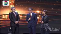 Panasonic Gobel Awards 2019 Gilang Dirga impersonate Karni Ilyas, tampil bersama Putra Nababan dan Rina Nose