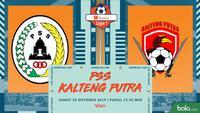 Shopee Liga 1 - PSS Sleman Vs Kalteng Putra (Bola.com/Adreanus Titus)