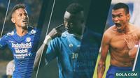Trivia - Bomber Hebat yang Pernah dimiliki Persib Bandung (Bola.com/Adreanus Titus)