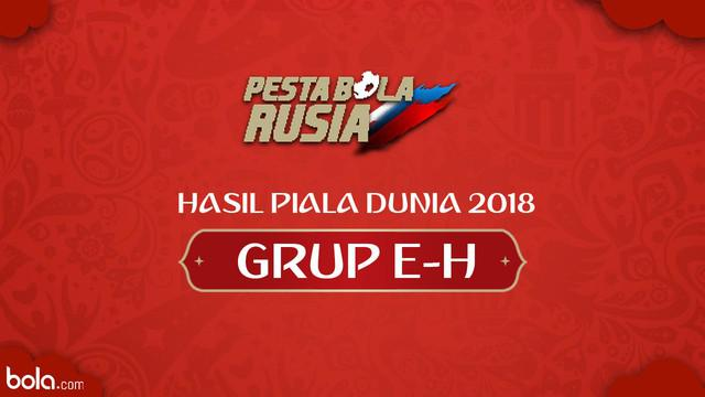 Berita video hasil Piala Dunia Rusia 2018 grup E-H matchday ke-3. Inggris kalah dari Belgia 0-1.