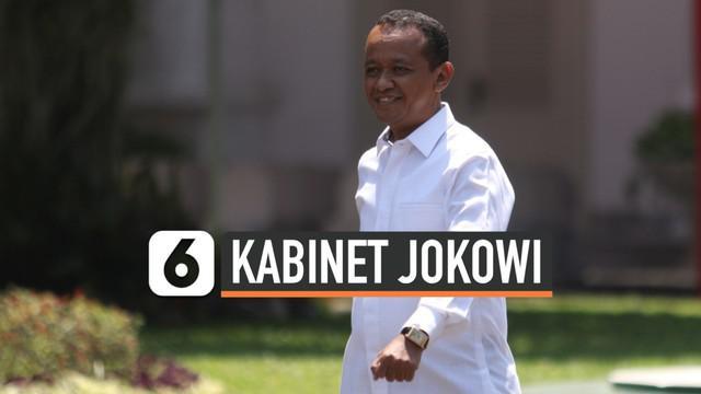 Bahlil Lahadalia datang ke Istana Kepresidenan Jakarta. Pengusaha yang tergabung dalam Himpunan Pengusaha Muda Indonesia (HIPMI) ini mengenakan kemeja putih.