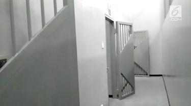 KPK meresmikan rumah tahanan baru bagi koruptor. Rutan tersebut berada di belakang gedung Merah Putih KPK.