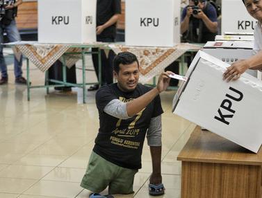 KPU Gelar Simulasi Pemilu untuk Penyandang Disabilitas