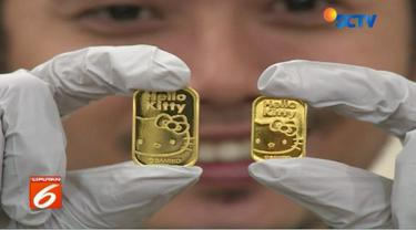 Dengan adanya sertifikasi dari LBMA membuat emas Antam bermotif Hello Kitty bisa diperdagangkan secara internasional.