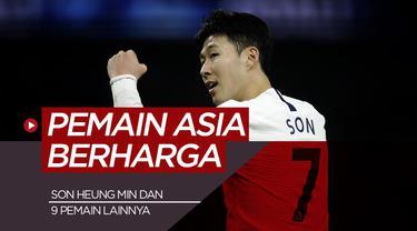 Berita motion grafis Son Heung-min dan 9 Pemain Asia Paling Berharga, Pemain Liverpool Masuk dalam Daftar