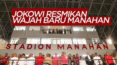 Berita Video Presiden Jokowi Resmikan Stadion Baru Manahan Solo