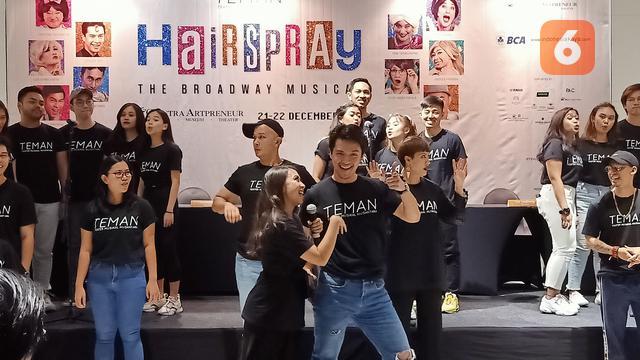 Berkat Hairspray, Mimpi Morgan Oey Main Drama Musikal Terwujud