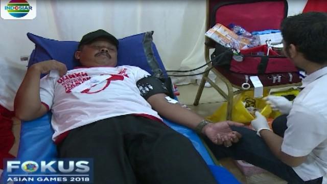 Kegiatan donor darah ini merupakan kegiatan rutin untuk membantu masyarakat yang membutuhkan darah.