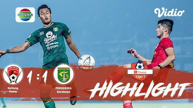 Pertandingan #ShopeeLiga1, antara #KaltengPutra vs #PersebayaSurabaya yang berlangsung di Stadion Tuah Pahoe, Palangkaraya pada ha...