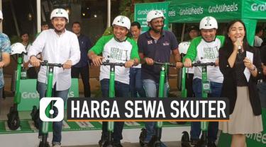 Skuter listrik sedang ramai digunakan di Jakarta. Tempat penyewaannya tersebar di berbagai daerah di Jakarta.
