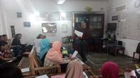 Kursus Bahasa Inggris murah meriah itu banyak diminati kalangan mahasiswa Yogyakarta. (Liputan6.com/Yanuar H)