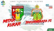 Liga 1 2018 Mitra Kukar Vs Bhayangkara FC (Bola.com/Adreanus Titus)