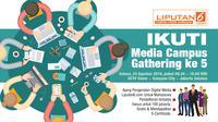 Mahasiswa akan mendapatkan sharing secara langsung dari para praktisi media digital Liputan6.com