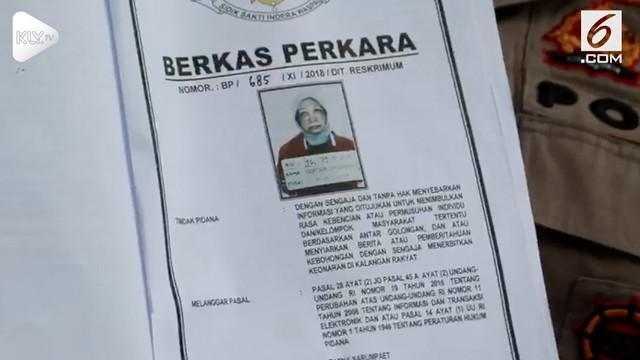 Polda Metro Jaya menolak permohonan tahanan kota dari keluarga Ratna Sarumpaet.
