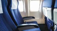 Ilustrasi kursi pesawat. (iStockphoto)