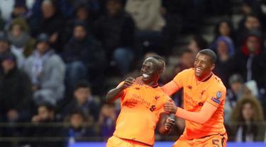 Liverpool Menang Telak atas Porto