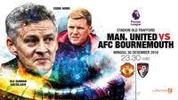 Manchester United vs AFC Bournemouth (Liputan6.com/Abdillah)