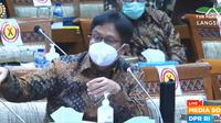 Komisi IX DPR RI mempertanyakan Menteri Kesehatan RI Budi Gunadi Sadikin mengenai cara penentuan siapa saja penerima vaksin COVID-19 lewat SMS.