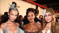 Simak penampilan Gigi dan Bella Hadid di Pertunjukkan Lingerie Rihanna (instagram/savagexfenty)