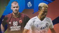 BRI Liga 1 - Wiljan Pluim Vs Kushedya Hari Yudo (Bola.com/Adreanus Titus)