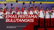 Berita Video Emas Pertama Bulutangkis SEA Games 2019.