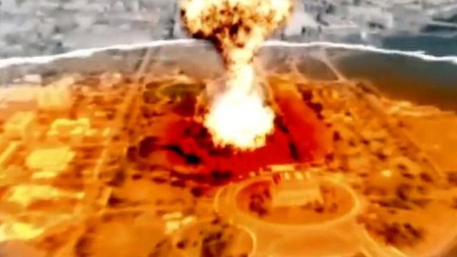 Korut Rilis Film Propaganda Perlihatkan Ibukota AS Dibom Nuklir
