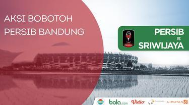 Berita video aksi-aksi dukungan Bobotoh saat Persib menang 1-0 atas Sriwijaya FC pada laga pembuka Piala Presiden 2018 di Stadion Gelora Bandung Lautan Api, Bandung, Selasa (16/1/2018).