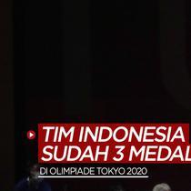 Berita motion grafis Tim Indonesia sementara ini sudah meraih 3 medali di Olimpiade Tokyo 2020. Dari siapa saja?