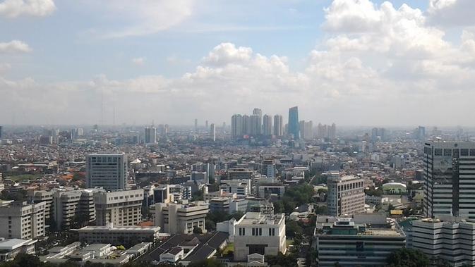 Ilustrasi Cuaca Jakarta dan Sekitarnya Cerah Berawan (Istimewa)