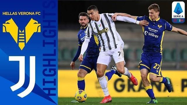 Berita video highlights Liga Italia 2020/2021 antara Hellas Verona melawan Juventus yang berakhir dengan skor 1-1, Minggu (28/2/2021) dinihari WIB.
