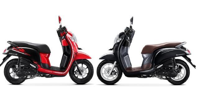 Honda Scoopy Ganti Jubah Baru Apa Saja Pilihannya Otomotif