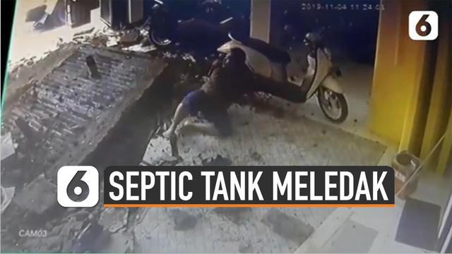 Sebuah septic tank meledak di Cakung, Jakarta Timur. Kejadian itu menyebabkan satu orang meninggal dunia.