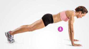 Bentuk payudara indah dengan beberapa latihan (Foto: Women's Health.com)