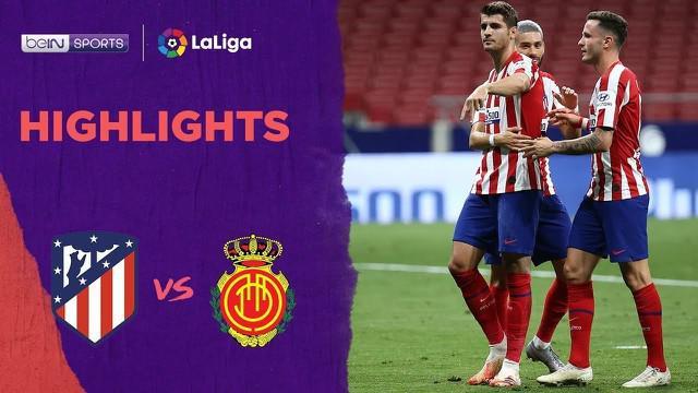 Berita video dua gol Alvaro Morata dalam highlights Atletico Madrid kontra Mallorca 3-0 dalam lanjutan La Liga 2019-2020 pada Sabtu (4/7/2020) dini hari WIB.