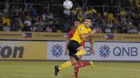 Penyerang Ceres Negros, Bienvenido Maranon, masih jadi ancaman buat Persija dan sudah mencetak lima gol dalam tiga penampilan di Piala AFC 2019. (dok. Ceres Negros)