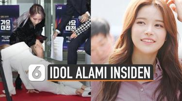 Wendy Red Velvet jatuh dari panggung 2,5 meter dan alami patah tulang saat latihan untuk tampil di SBS Gayo Daejeon 2019.