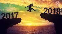 Ilustrasi Foto Pergantian Tahun atau Tahun Baru (iStockphoto)