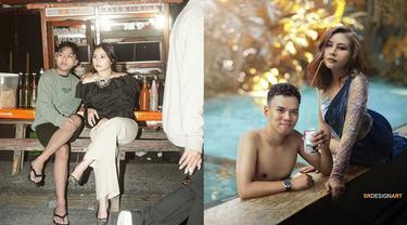 6 Editan Foto Pria Hangout Bareng Prilly Latuconsina Ini Imajinatif Banget