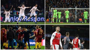 Liga Champions baru saja melakukan undian untuk babak fase grup, seperti biasa hanya ada 32 klub yang ikut memanaskan perebutan trofi si kuping besar. Berikut ini tujuh klub besar yang absen di Liga Champions musim 2019/2020. (Kolase Foto dari AFP)