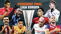 Banner Perempat Final Liga Europa. (Triyasni)