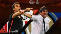 Liga Europa - Sevilla Vs Inter Milan - Head to Head Pelatih (Bola.com/Adreanus Titus)