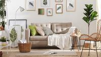 Inspirasi desain ruang keluarga bergaya Japandi. (dok. Dekoruma/Dinny Mutiah)