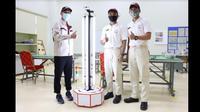 Lulusan Toyota Indonesia Academy menciptakan Robot UV. (TMMIN)