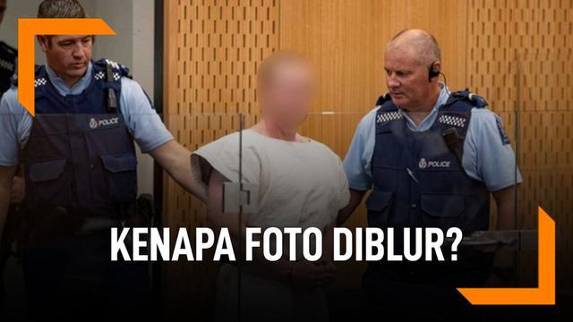 Alasan Foto Pelaku Penembakan di Selandia Baru Diblur
